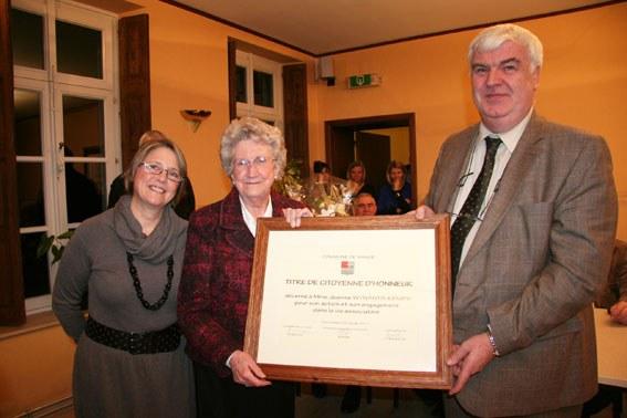 Citoyenne d'honneur 2011
