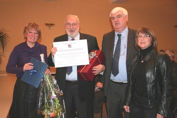 citoyen d'honneur 2009