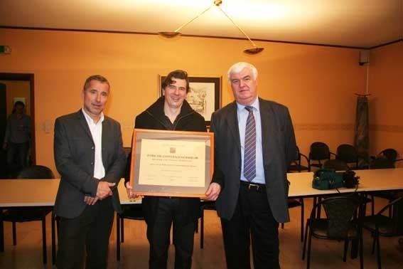citoyen d'honneur 2012