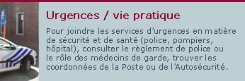 Urgences/vie pratique