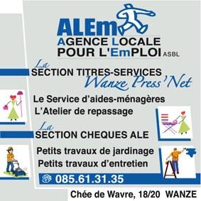 plaque logo alem