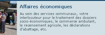 Affaires economiques