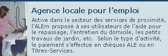 Agence locale pour l emploi