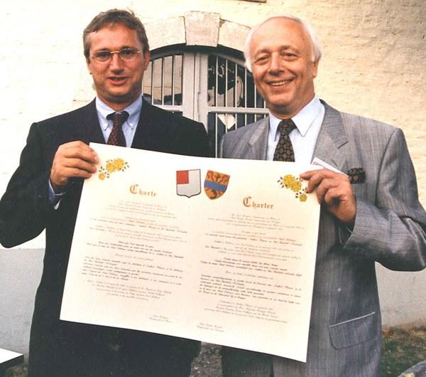 La charte du jumelage 1997